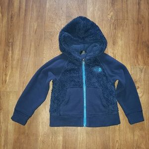 Boys the north face hoodie sweater size 2t